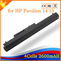 Black 14 8V 2600mah 4cell Wholesale New Notebook Laptop Battery LA04 Y5BV UB5M Q131 For HP