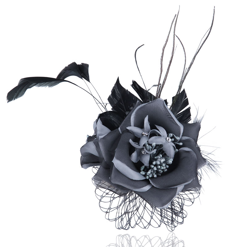 Chian Yu Fabric Flower Brooch High Quality Brooches pin for Women and Girl  Fashion jewelry accessories
