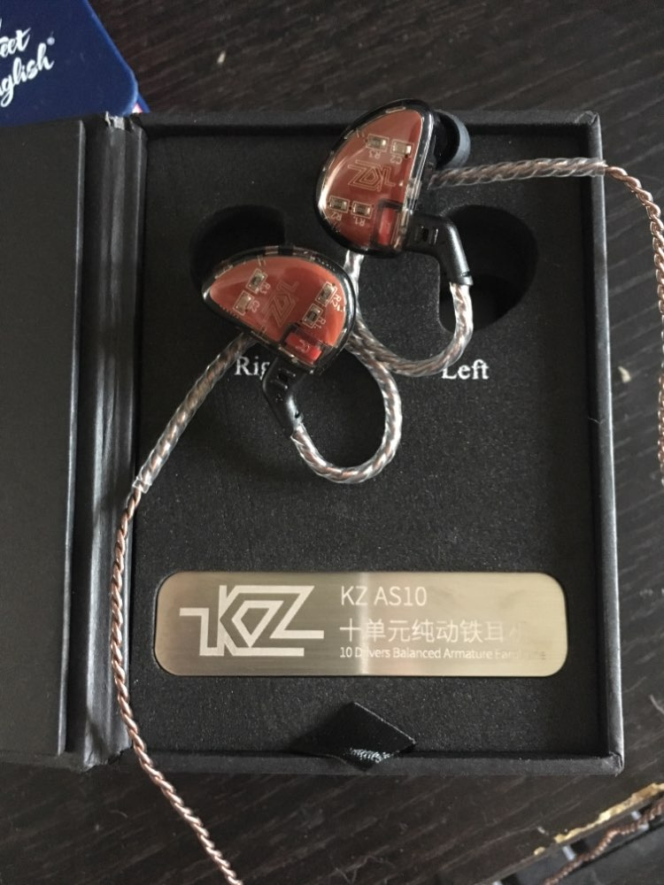 AK KZ AS10 5BA Balanced Armature In Ear Earphone HIFI Running Sport Earphone Headphone Headset KZ ZSN ZS10 PRO AS16 ZS7 CCA A10