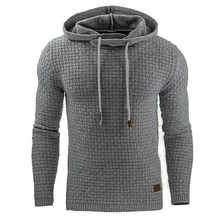 2017 повседневные толстовки бренд Для мужчин одноцветное Цвет с капюшоном мужской свитер с капюшоном хип-хоп осень-зима Толстовка Для мужчин S пуловер Плюс Размеры 4XL