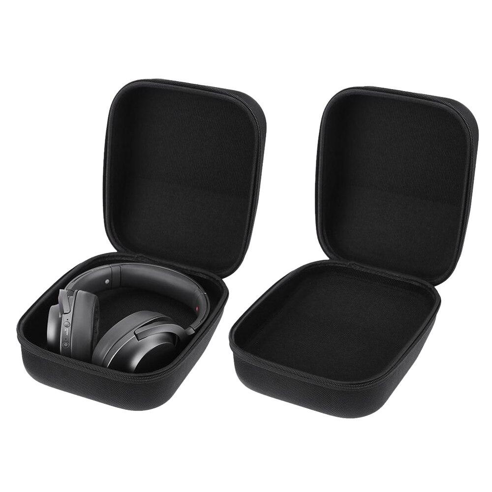 VODOOL Caso PU EVA Rígido de Armazenamento Caixa De Viagem para Sennheiser HD598 HD600 HD650 Fones De Ouvido Fones de Ouvido Fones De Ouvido Sacos de Caso de Alta Qualidade