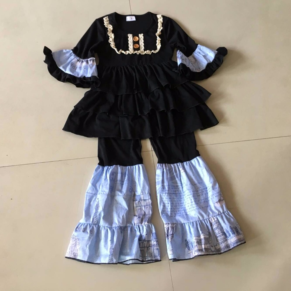 2017 Fall 100%Cotton Ivory Lace Boutique Baby Girl Dress With Pants Casual Sets Clothing Infants Present Accessory Apparel frank buytendijk dealing with dilemmas where business analytics fall short