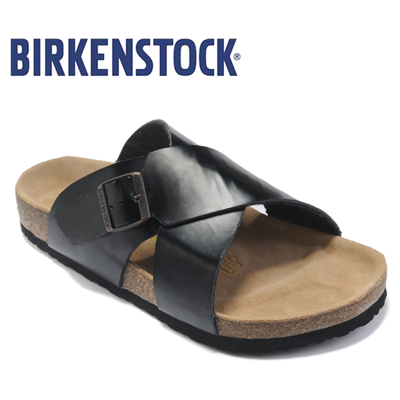 New Arrival BIRKENSTOCK classic on beach slides Party Shoes summer fashion Sandals women sandals shoes free shipping 825