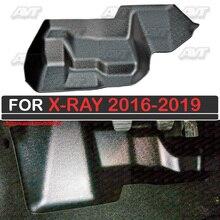 Ковер защитный чехол под Педальный узел для Lada X-Ray 2016-2019 Автомобиль Стайлинг украшение Обложка интерьер
