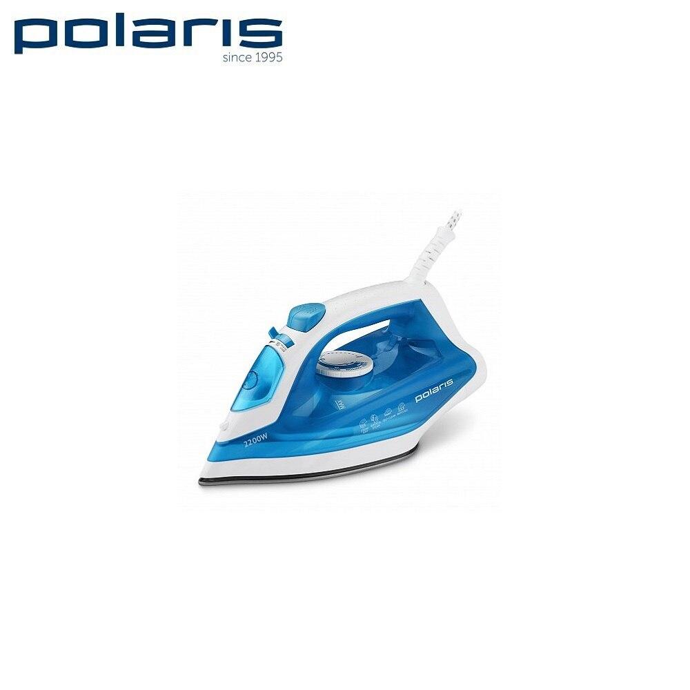 Iron Polaris PIR 2285K White/Blue Iron for ironing Mini iron steam iron Steam generator for clothing Irons Electric steamgenerator Small iron electric iron polaris pir 2490ak
