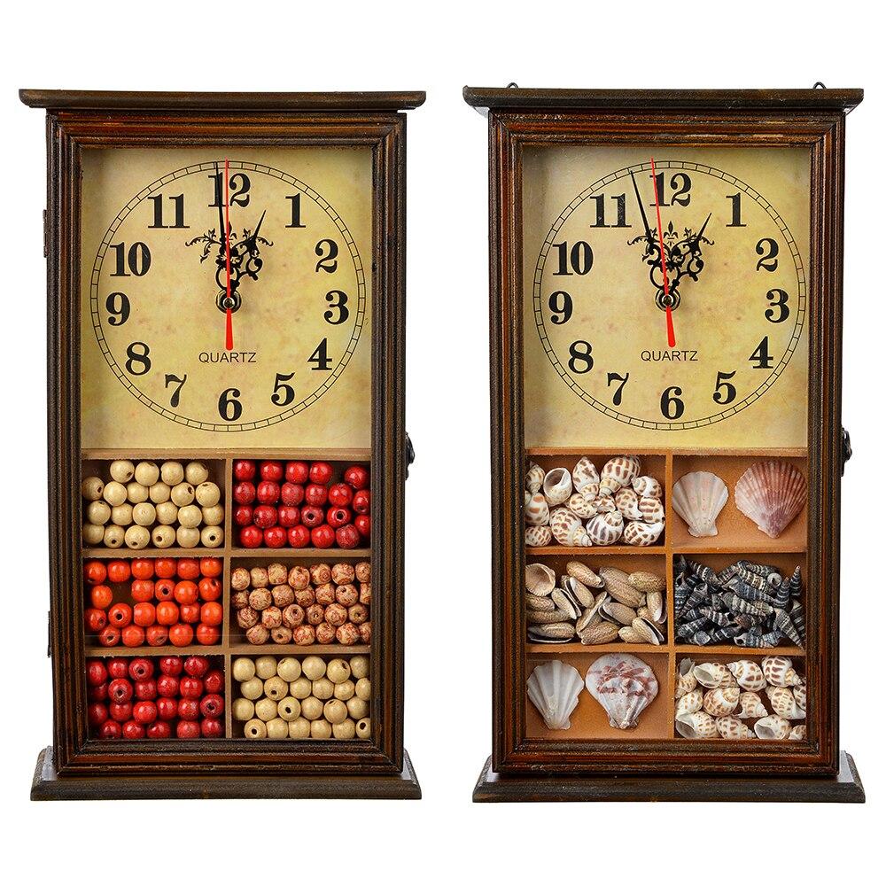La FEMME de MÉNAGE est une boîte de coffre de stockage clé montre creative sacs bijoux en métal livraison gratuite remise qualité supérieure maison 510- 131