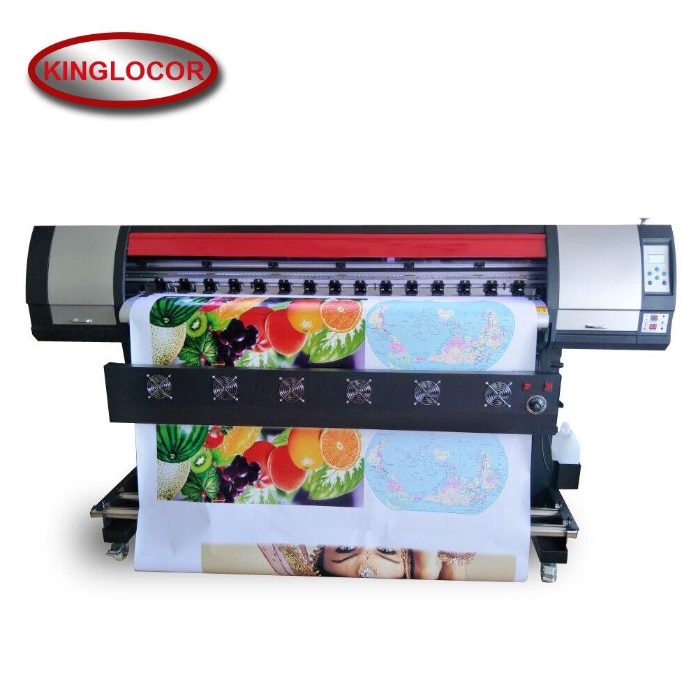 High Quality 1.8m Flex Banner Printing Machine Xp600 Head 1.8m Printer Technical Support