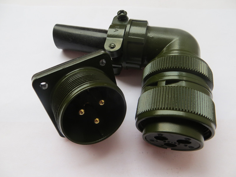 Original new 100% 3 core military standard elbow waterproof connector plug MS3102A22-2P MS3108A22-2S American Standard aviation original new 100% army standard waterproof connector ms3108a 22 14s 19 core elbow 5015 army standard aviation plug 22 14p