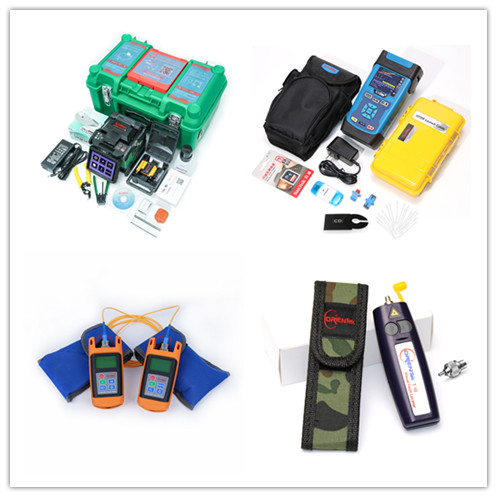 KOMSHINE GX37 FTTH Fusion Splicer Kit w/ KF-52 Cleaver+SM 1550nm OTDR+Power Meter+Laser Source+Visual Fault Locator/VFLKOMSHINE GX37 FTTH Fusion Splicer Kit w/ KF-52 Cleaver+SM 1550nm OTDR+Power Meter+Laser Source+Visual Fault Locator/VFL