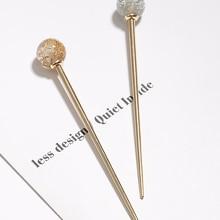 Japanese Hot Sale Woman Lollipop Hair Stick Languid Lazy Tem