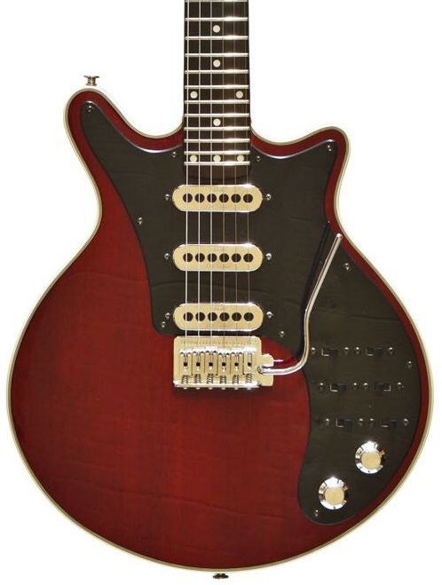 new brian may guitar antique cherry 24 frets wilkinson bridge electric guitars in guitar from. Black Bedroom Furniture Sets. Home Design Ideas