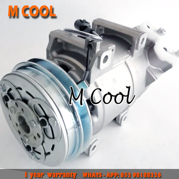 Para DKS15D Compressor AC Mitsubishi Triton 2.5L D-Max pegar L200 MN123625 506211-9191 Z0009897A 506012- 1511