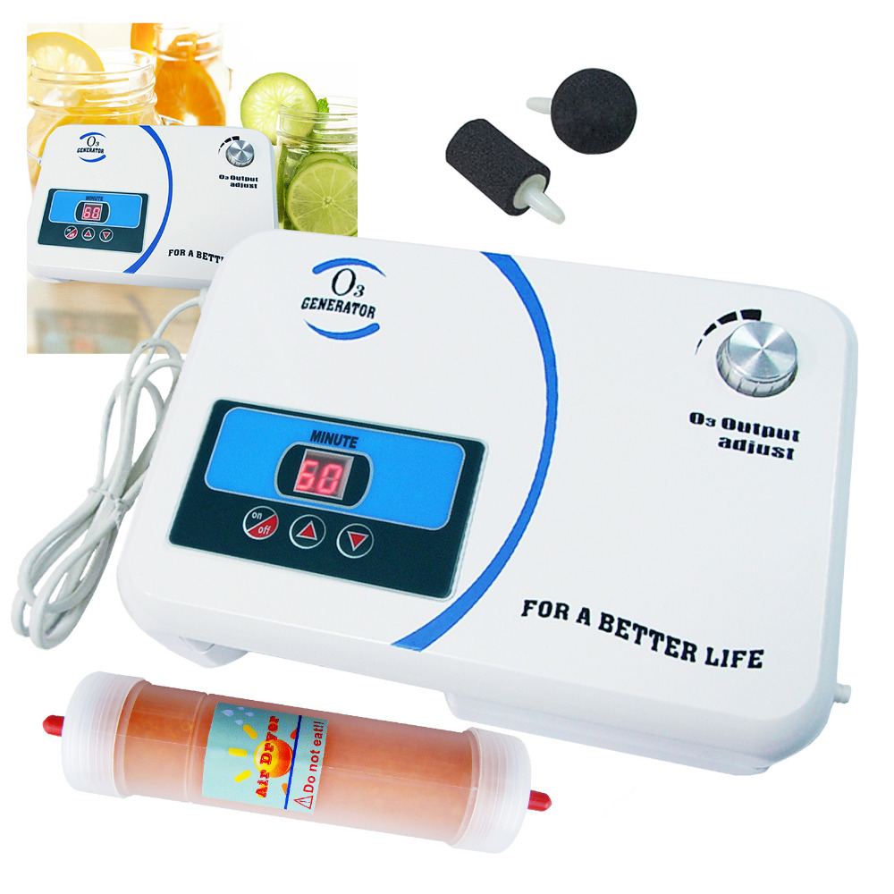 110Vor 220V Ozone Generator Portable Water Purifier Air Dryer Air Pump Spa Ozone Generator