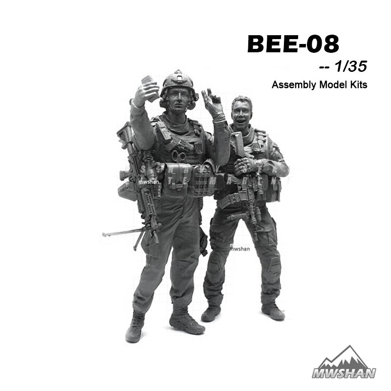 YUFAN 1/35 BEE-08 BEE Series Modern U.S Army Assembly Military Resin Miniatures Model Building Kits