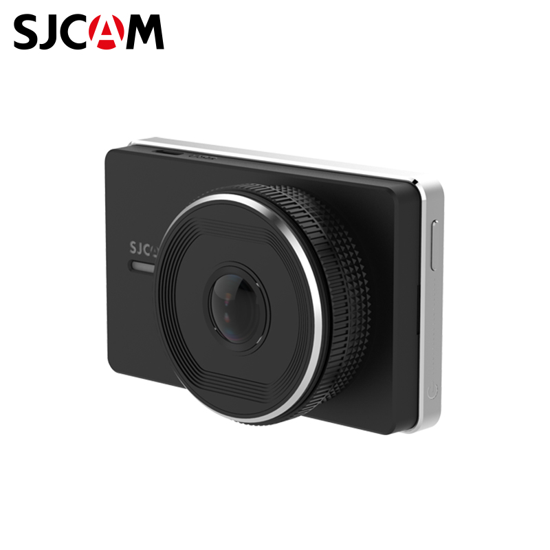 Car DVR SJCAM SJDASH 1920 1080p 4 3 lcd dual lens video dash cam recorder car camera dvr 3 in 1 rearview mirror front car dvr rear view camera