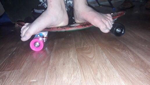 Outlife 22 inch Graffiti Maple Printing Maple Leaf Retro Skateboard Longboard Skate Board Mini Cruiser Long board Skatecycle