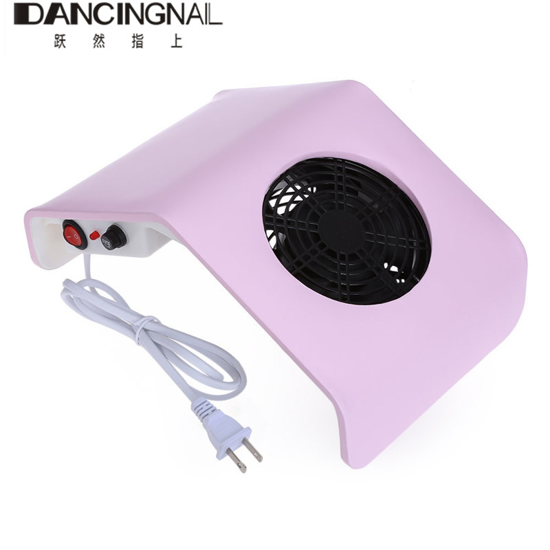 36W Pro Salon Nail Dust Collector Strong Fan Nail Art