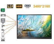 18,4 дюймов 4 к 3480*2160 экран ЖК дисплей Мониторы идеально подходит для Xbox, PS станции, переключатель, raspberry pi, мини-ПК с системой windows, проектор, dvd и т. д