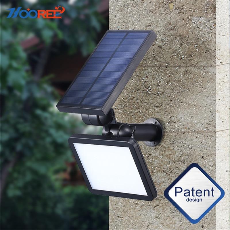Solar Power Light Sensor Outdoor Garden Night Light Wall Mounted Energy BR