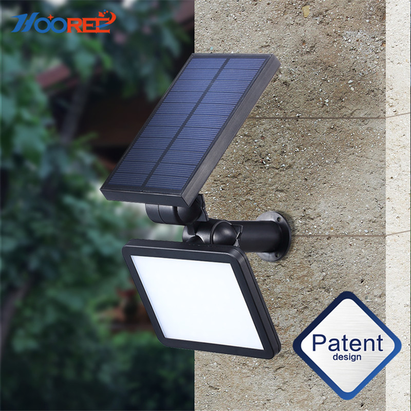 NEW Solar Light 48 LED Portable Solar Energy Lamp Waterproof Home Yard Outdoor Lighting Led Solar Garden Light Pathway Wall Lamp