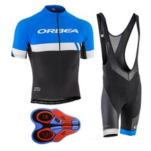 Orbea Team Breathable Cycling Jersey Kits Summer Mtb Cycling Clothing Bicycle Short Maillot Ciclismo Sportwear Bike Clothes