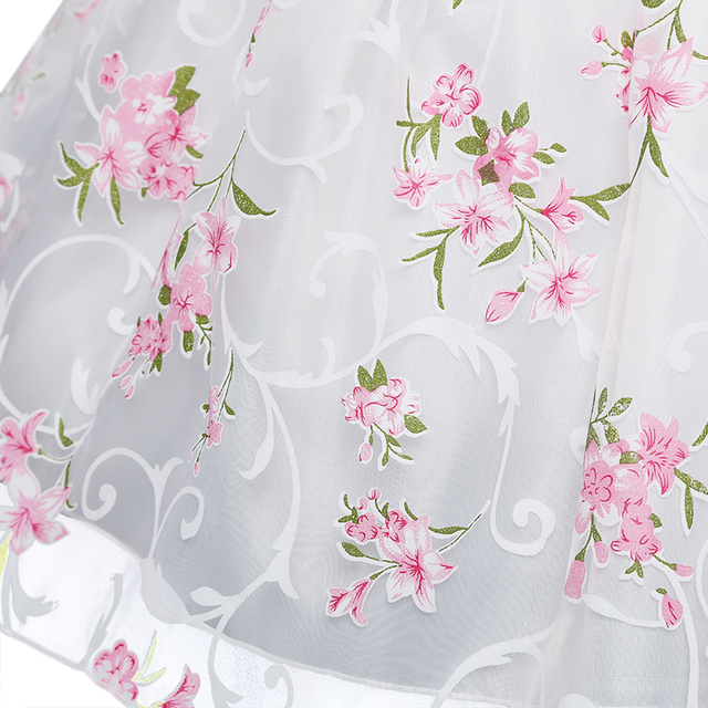 Little Flower Party Dresses for Girls