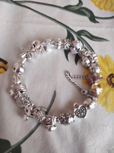 браслет Пандора серебро; Бусина материал:: Кристалл; бусины для ювелирные изделия делает; Материал:: Кристалл;