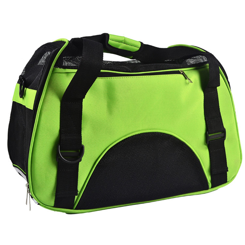 Small Cat Dog Carrier Bag Outdoor Travel Carry Tote Foldable Ventilation Shopping Bag Portable Pet Dog Handbag