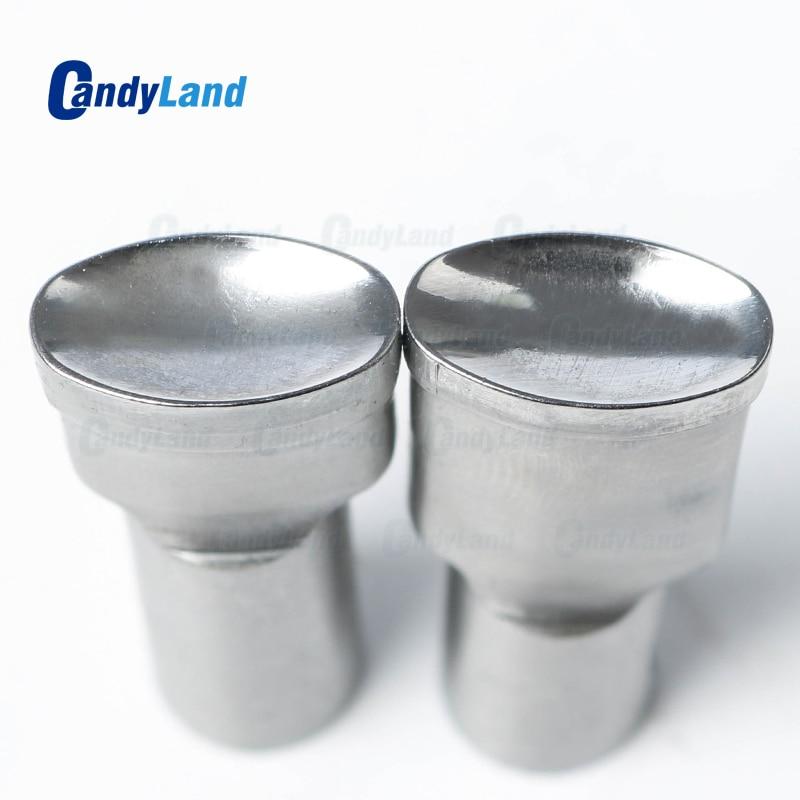 CandyLand 10mm Blank Milk Tablet Die Pill Press Die Sugar Tablet Stamper Customized Logo Punch Die