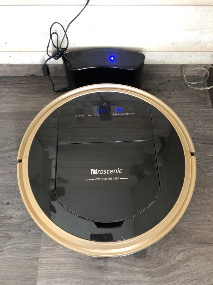 Robot Vacuum Cleaner Proscenic 790T 1200Pa Power Suction Vacuum Cleaner Robot with Wifi Connected Remote Control Aspirador