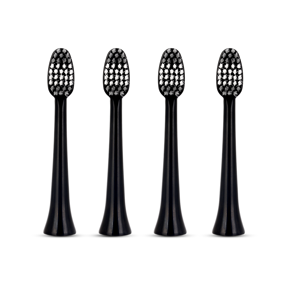 4pcs Replacement Heads suit for AZDENT G8 Sonic Electric Toothbrush Adults Timer Tooth Brushes Head Teeth Whitening Oral Hygiene portable electric sonic toothbrush for adults waterproof rechargeable tooth timer teeth brush with 4pcs replacement heads 44