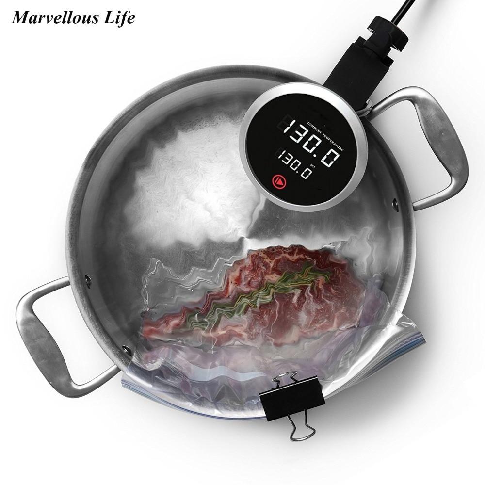 YOHOLOO Sous-Vide Плита с точным Температура Sous-Vide точность Плита точной погружной термостат вакуум медленно Плита