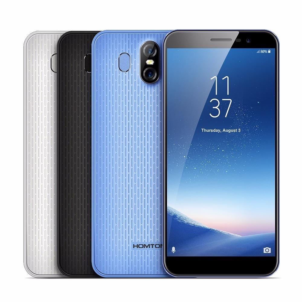 HOMTOM S16 смартфон 3g 5,5 Android 7,0 MTK6580 Quad core 1. 3g Hz 2 ГБ Оперативная память 16 ГБ Встроенная память отпечаток пальца OTA 13.0MP + 8MP камеры распродажа