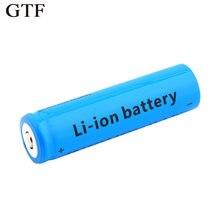 Литиевая батарея gtf 1 шт 18650 3800 мА/ч 37 В зарядное устройство