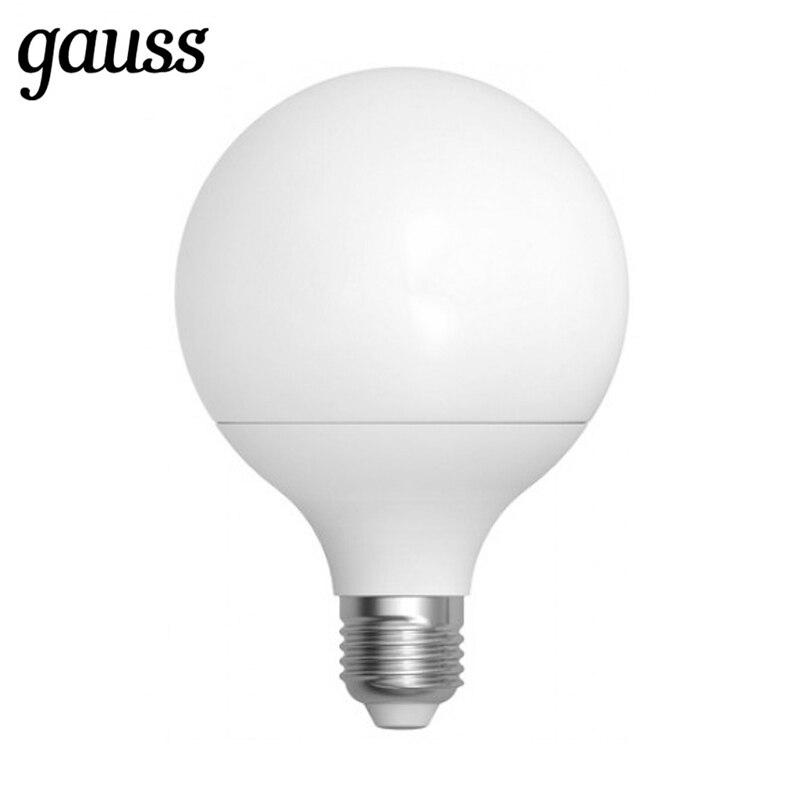 Лампа светодиодная шар Led G95 E27 16Вт 3000К 4100К Gauss 105102216 105102116