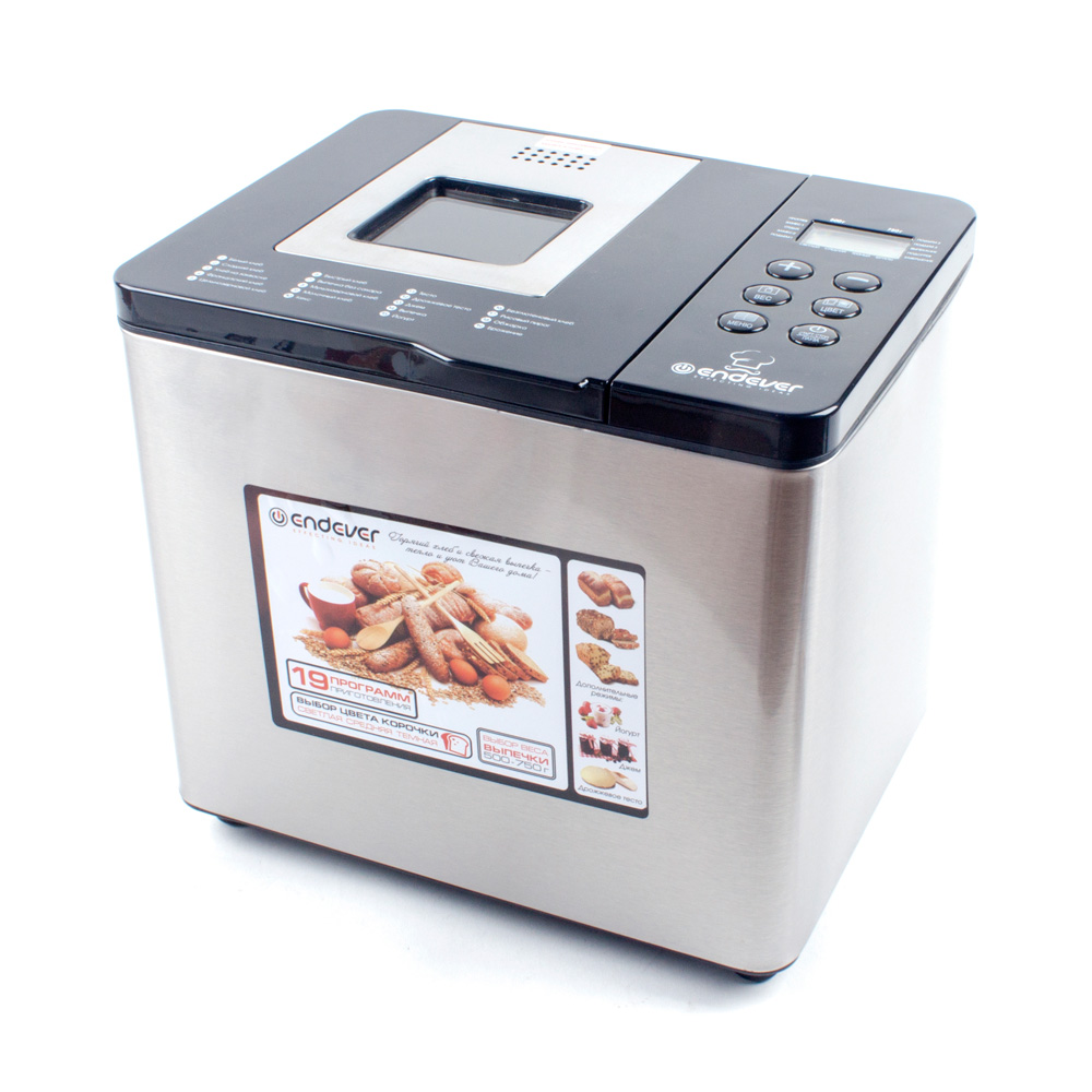 Bakery Endever Skyline MB-54 bread maker redmond rbm m1911 free shipping bakery machine full automatic multi function zipper