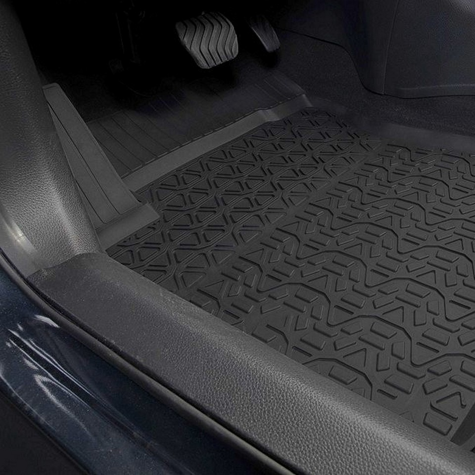 For Nissan X-Trail T32 2015-2019 rubber floor mats into saloon 5 pcs/set Rival 64109001 3d floor mats into saloon for nissan x trail t32 2015 2019 5 pcs set rival 14109001