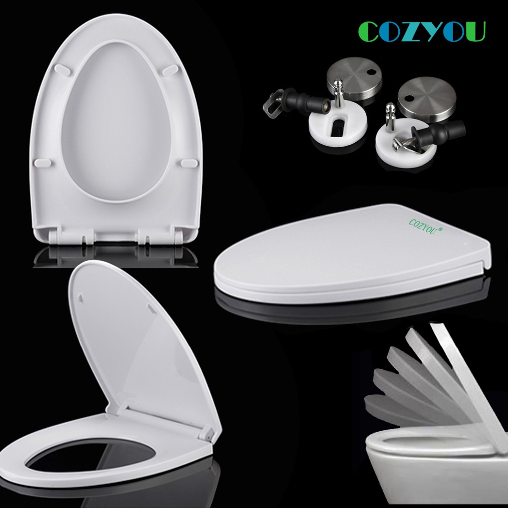 Toilet seat GBP17265SV White V type Slow Close PP board slow close above installation length 470mm to 505mm,width 340mm to 360mmToilet seat GBP17265SV White V type Slow Close PP board slow close above installation length 470mm to 505mm,width 340mm to 360mm