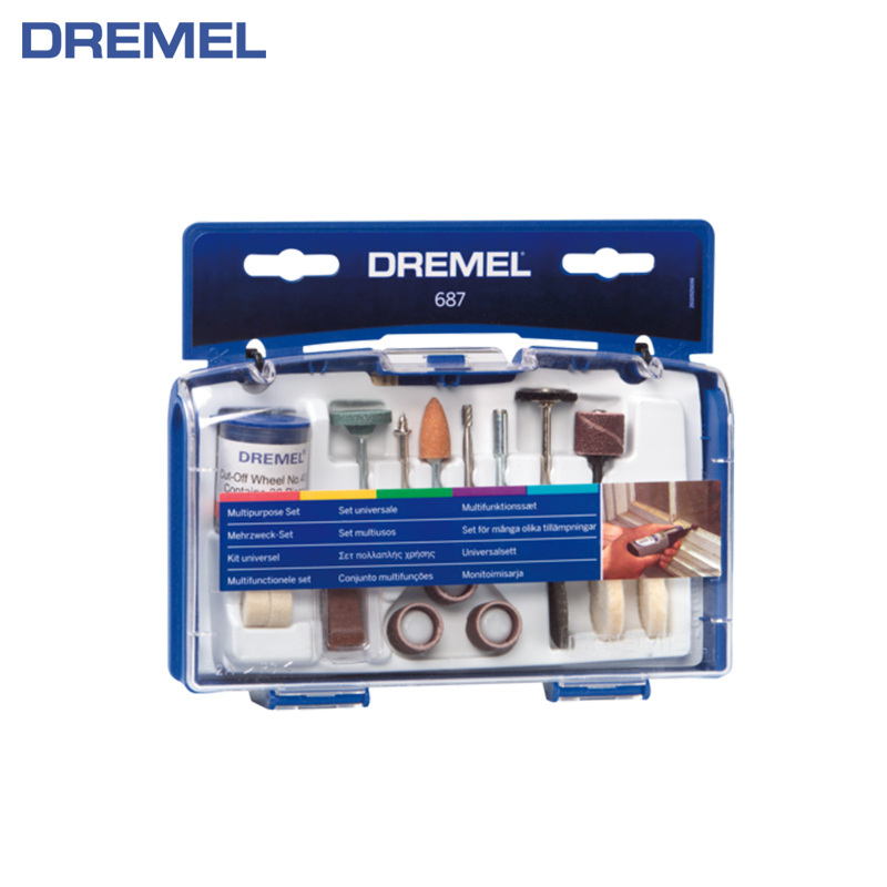 Multipurpose accessory set Dremel 52 pc hot sell 5000m roll colorful multipurpose reflective sewing thread free shipping