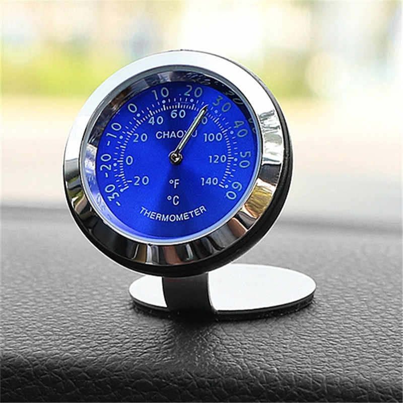 Car Clock Thermometer with Perfume function Auto Digital Clocks Charms Interior Dashboard Watch Decor Clock In Car Accessories
