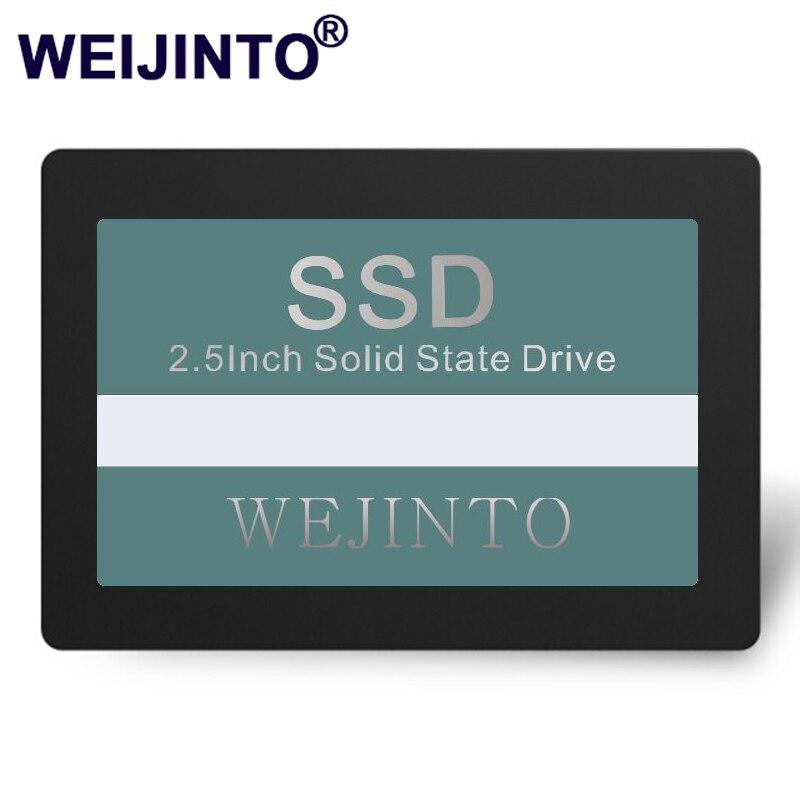 WEIJINTO ssd hard drive for laptop computer solid state hard drive ssd 240gb 120gb 60GB 32GB hdd 2.5sata internal