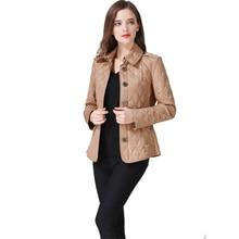 High Quality Women's Jackets 2017 Slim Jaqueta Feminina Solid Color Casacos Femininos Big Size M to 3XL
