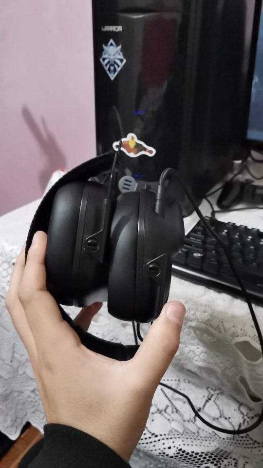 Fones de ouvido tático master-jz008 immersive
