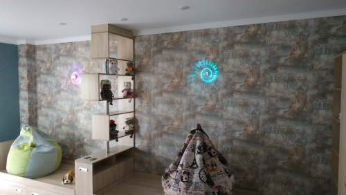 Luminárias de parede Controlador Controlador Lâmpada
