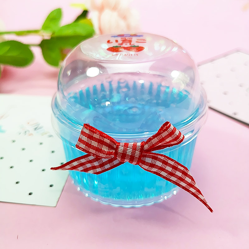 Happy Monkey In Stock 20pcs/set 150ml Slime Box Plastic Transparent Storage Box Slime Container For Fluffy Clear Slime