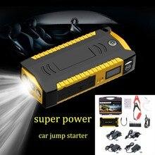 Водостойкий Универсальный Автомобильный скачок стартер 12 В 4USB 600A портативный автомобильный аккумулятор бустер зарядное устройство power Bank пусковое устройство