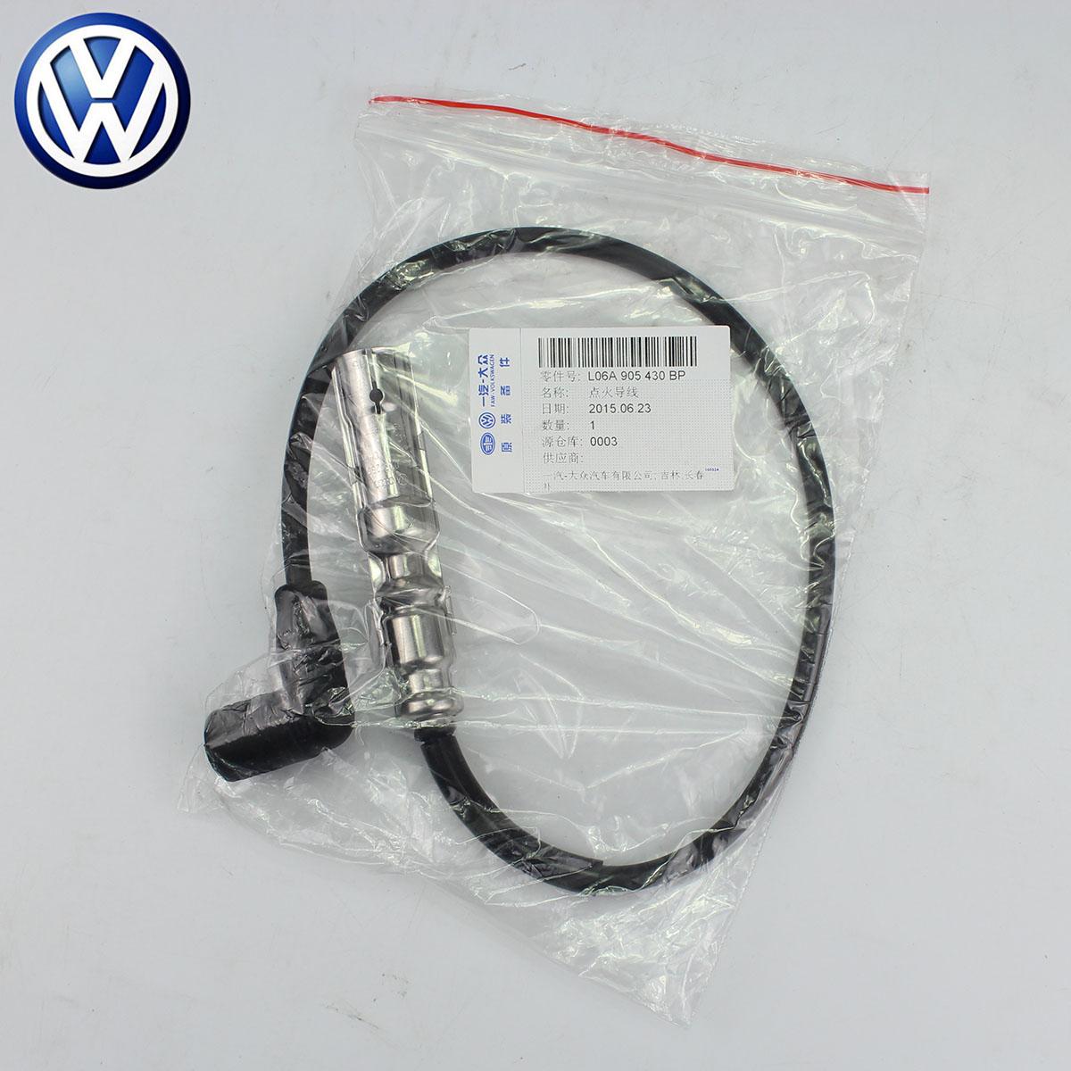 ORIGINAL ZÜNDKERZE KABEL 06A 905 430 BP Für VW VOLKSWAGEN Jetta Mk4 Caddy Golf MK4 Jetta MK5