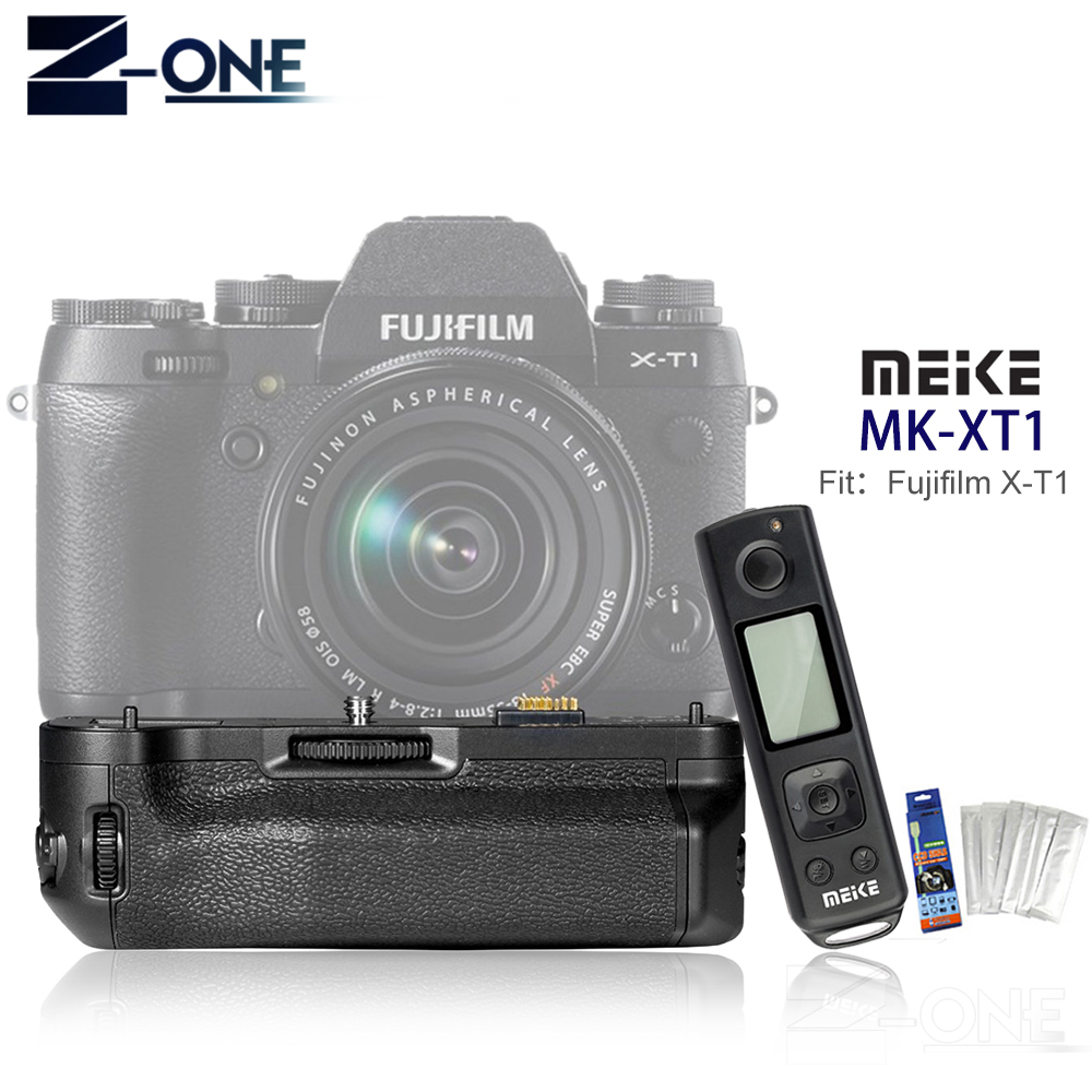 MEIKE VG-XT1 Pro Built-In Wireless Remote Control Battery Grip for Fujifilm X-T1 цена