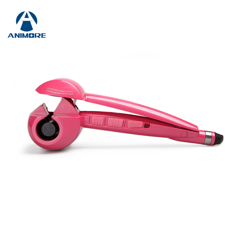 ANIMORE 110-240V Hair Curler Automatic Hair Curlers Digital Hair Curling Iron Professional Curlers Hair Styling Tools CI-02