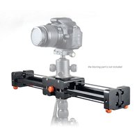 Commlite CS V500 Retractable Video Slider 50cm Dolly Track Stabilizer 1m Sliding Distance Load Up to 8kg for Nikon Canon DSLRs